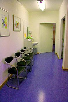 Wartebereich - Ergotherapie Praxis Zimolong Müchen Schwabing