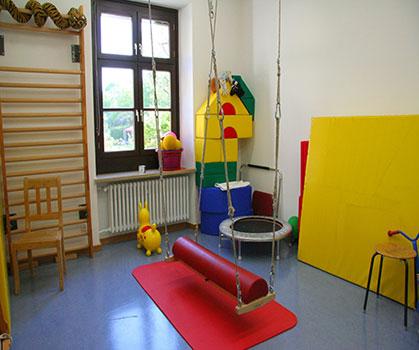 Motorikraum - Ergotherapie Zimolong in München Schwabing